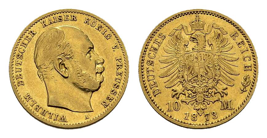 10 mark 1873 ar