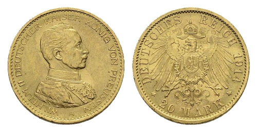 20 mark 1914 mundir