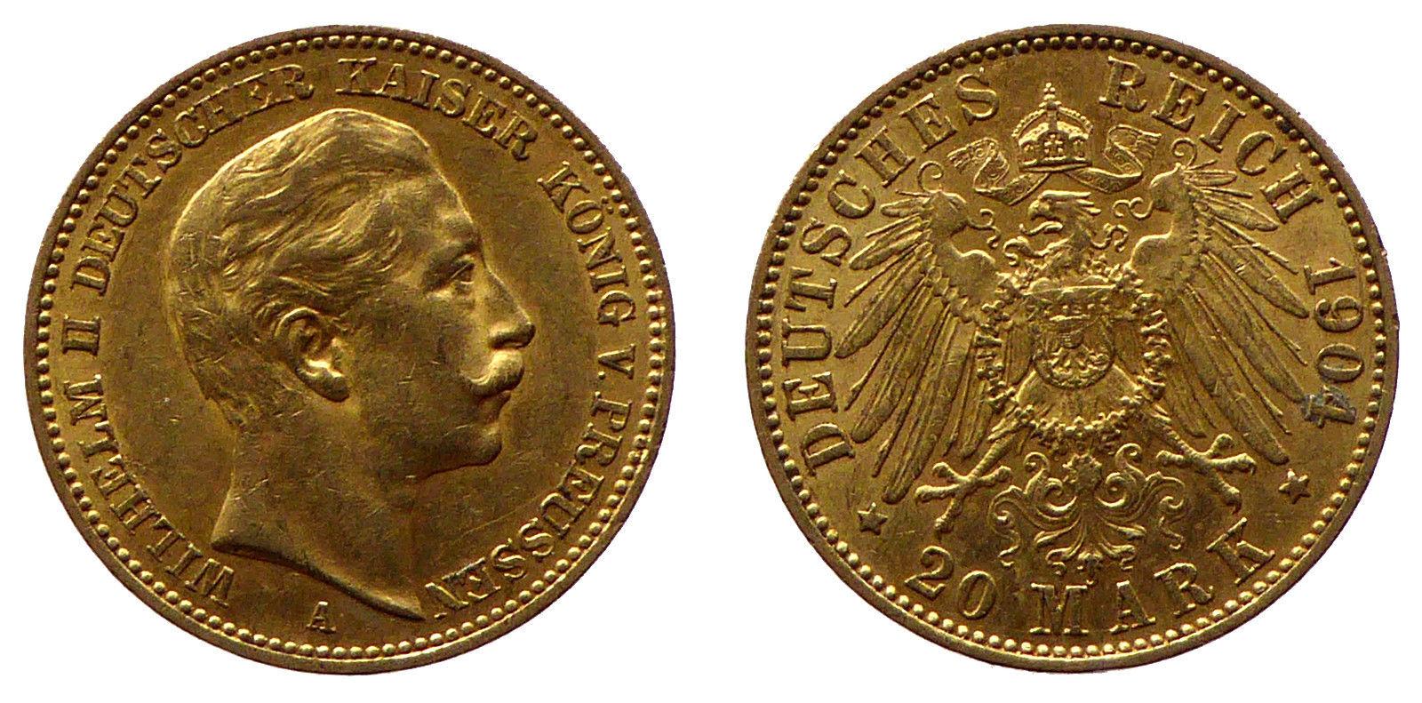 1904 20 Mark