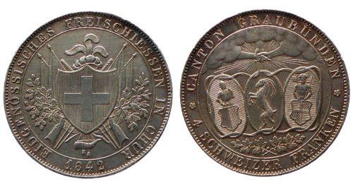 4 Franken 1842